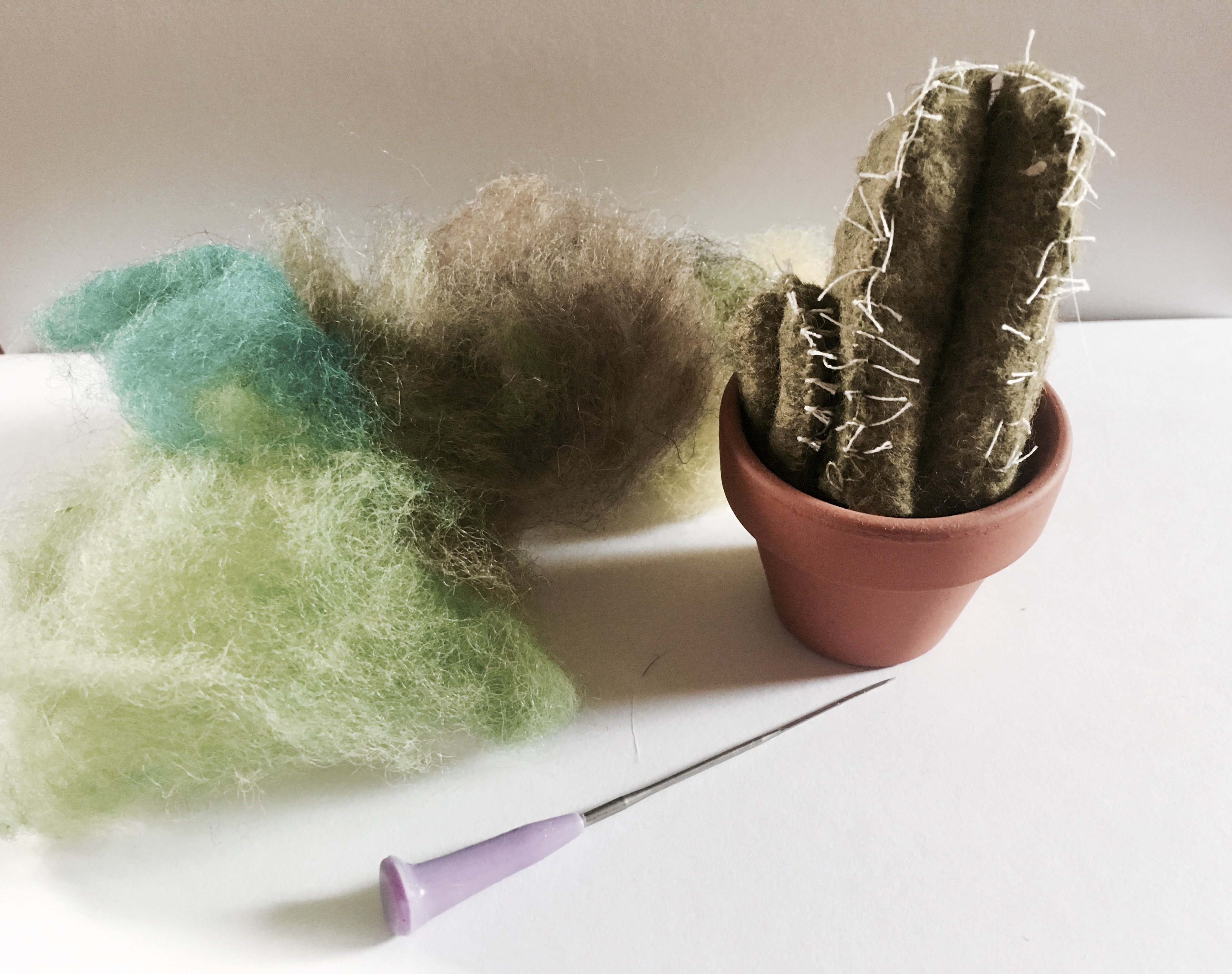 Sculptural Needle Felting